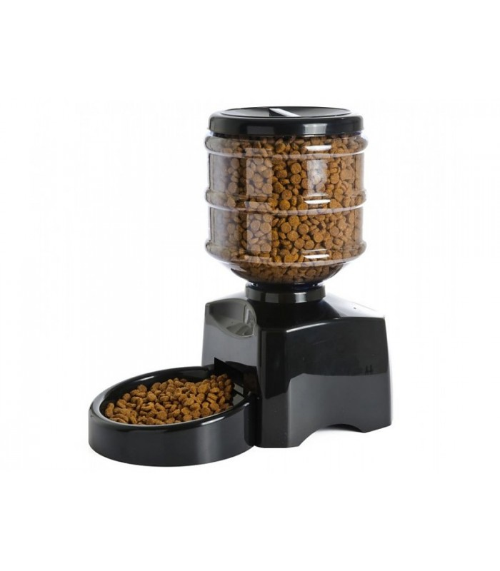 Dispensador automatico de 3 comidas para perros animales for Dispensador de comida automatico